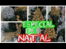 DECORAÇÃO DE NATAL USANDO COLA QUENTE - Renas, Árvores e Bolas 1