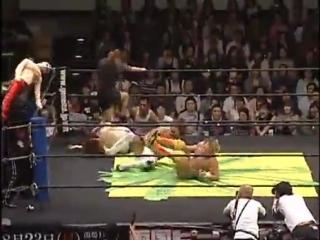 Golden Lovers (Kenny Omega & Kota Ibushi) vs. Danshoku Dino & Yoshihiko