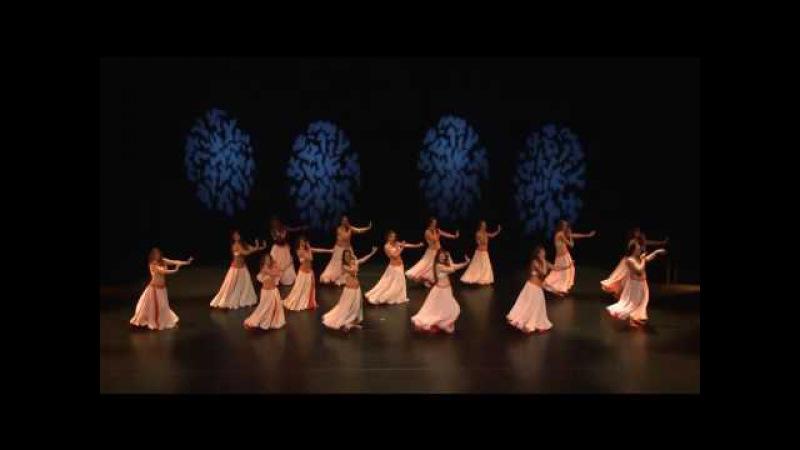 Feriel Rodriguez choréo élèves centre artistique jawhara musique heshk beshk wael mansour 2015