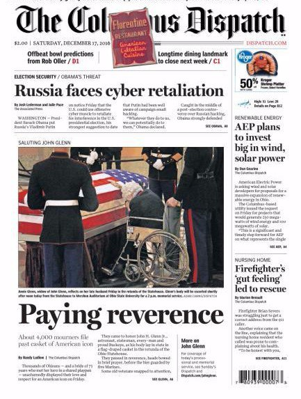 The Columbus Dispatch - December 17- 2016