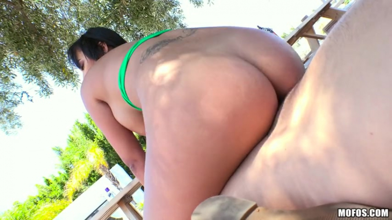 Kimberly Kendall ( Busty Honey Stuffs her Asshole) 2016 ( Anal, Outdoors, Sex, Titty Fuck, Ass To Mouth,
