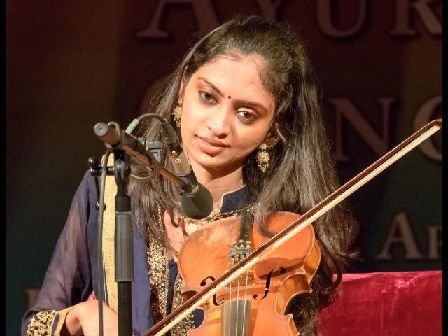 MERU Concert Ragini Shankar on violin Raga Bihag