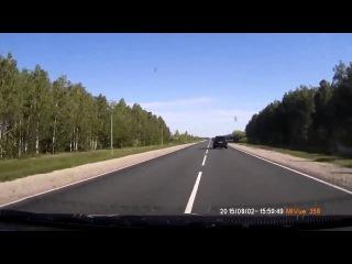 Пять человек погибли при столкновении фуры и легковушки в Пензенской области 2 08 2015