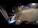 Honda cbr 600rr kawasaki ninja zx9r night ride![Motto kot]