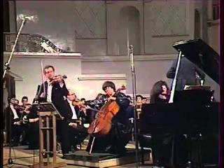 Eliso Virsaladze, Oleg Kagan, Natalia Gutman play Beethoven Triple Concerto - video