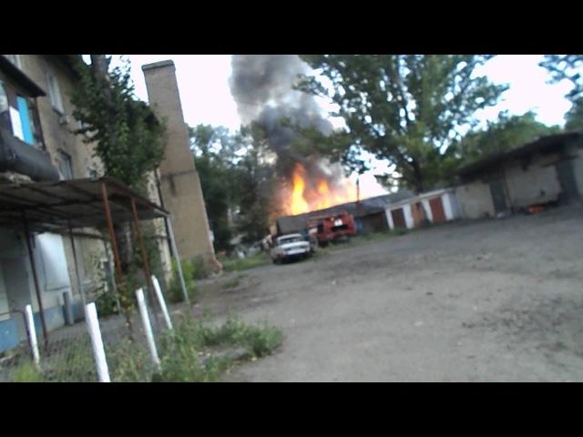 суходольск 06,08,2014 атака с самолёта хунты