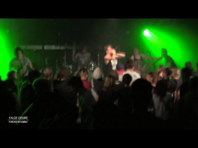 Forever In Combat False Desire LIVE 22 08 14 Dorsten Germany