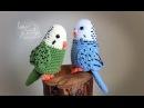 Tutorial Periquito Amigurumi Parakeet English subtitles