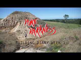 Pure Darkness 3 - Building Diary week 1 -  Breaking Ground