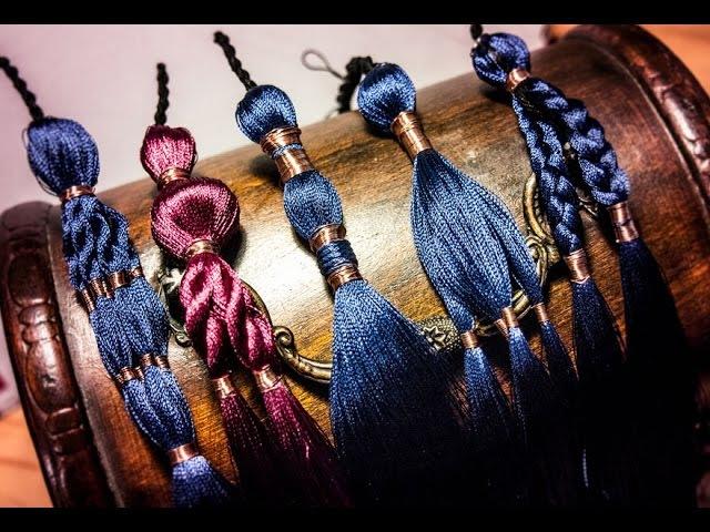 Making a paranda style tassel for ATS Tribal Costume