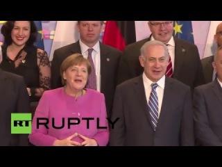 Германия: Меркель встречается с Израильским Премьер-Министр Нетаньяху в Берлине