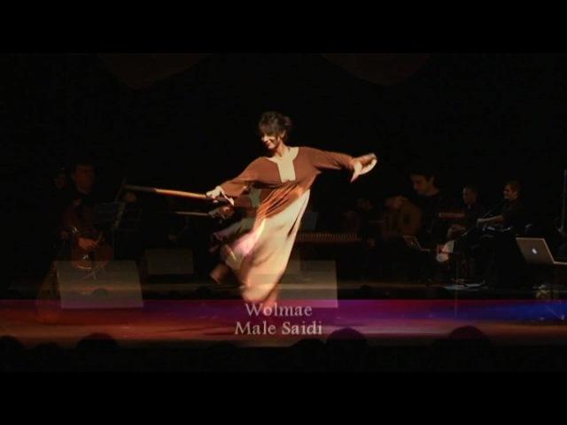 Unique cane dance - SaidiTahtib (Arabic folk dance) from Wolmae
