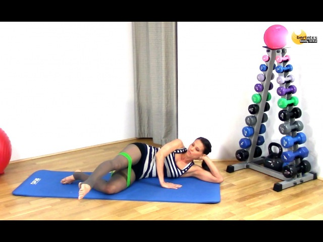 FREE Butt Mat Workout Resistance Loop Butt BARLATES BODY BLITZ with Linda Wooldridge