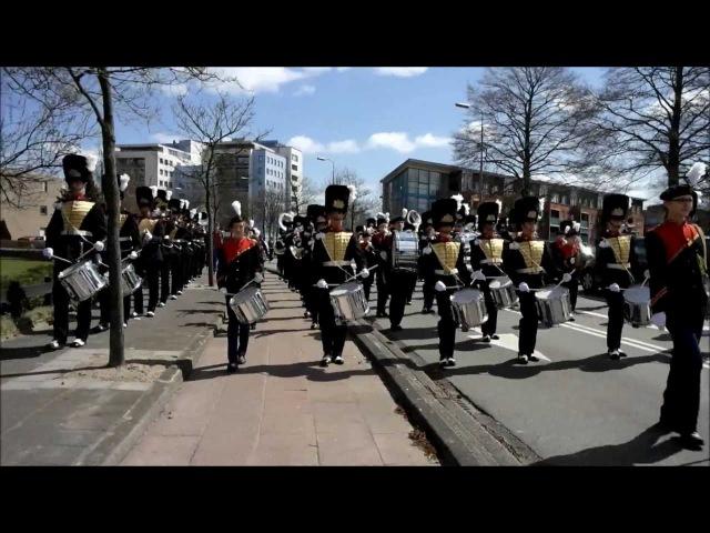 Adest Musica Sassenheim - Red Alert 3 Special Soviet March - 2013