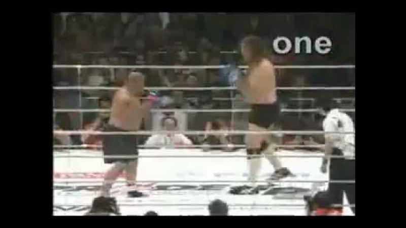 Гигант Сильва самый высокий боец MMA
