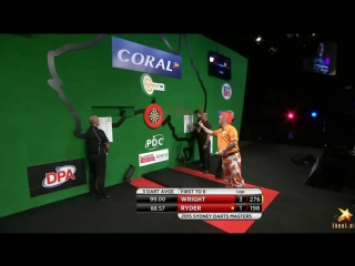 Peter Wright vs Laurence Ryder (Sydney Darts Masters 2015 / Round 1)