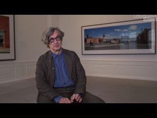 wim wenders interview: painter, filmmaker, photographer
