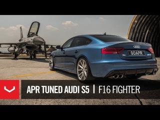 Quattro Empire Audi S5 Sportback | APR Greece | Hellenic Air Force F-16 | Vossen VFS-1