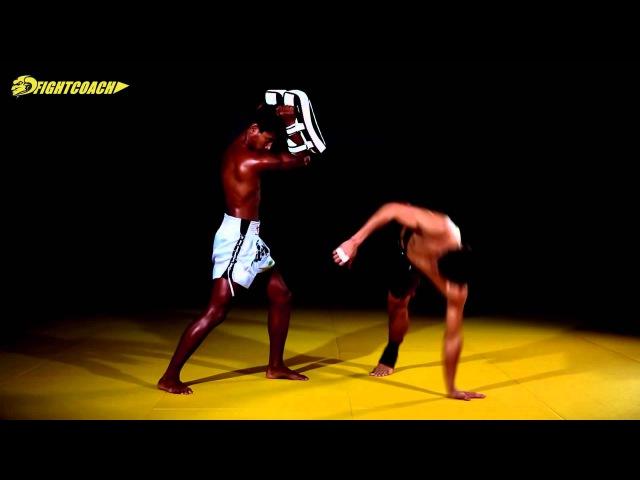 Hướng dẫn đòn ra chân đẹp mắt nhất của SAENCHAI P K SAENCHAIMUAYTHAIGYM cartwheel kick