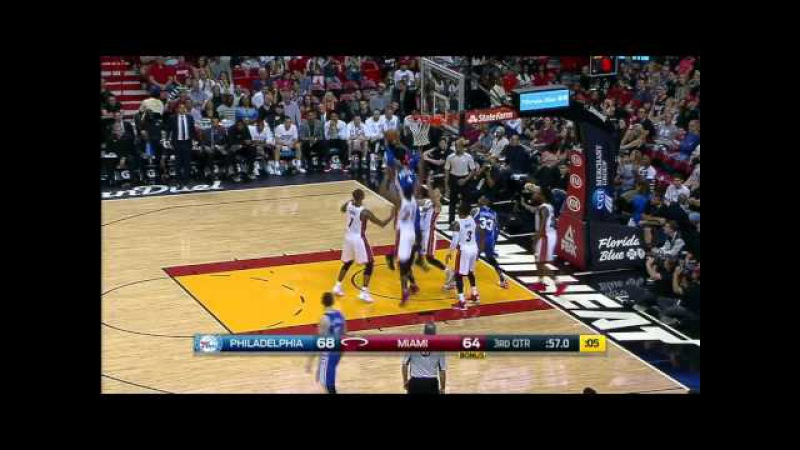 NBA Recap Philadelphia 76ers vs Miami Heat | November 21, 2015 | Highlights