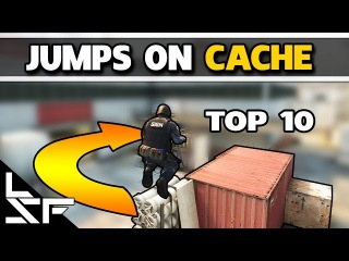 TOP 10 JUMPS ON CACHE - CS:GO Tips and Tricks