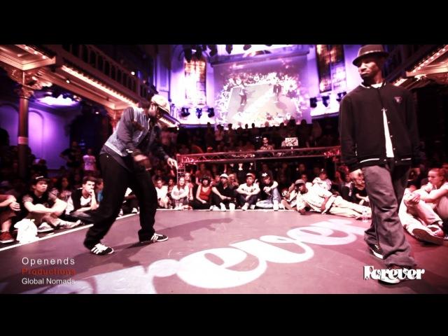 Judge Battle Creesto vs MonstaPop Popping Forever 2013