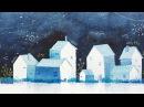 Simple Watercolor Houses