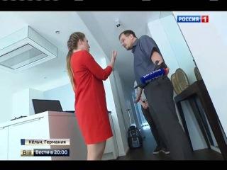Автор фильма о допинге в России Хайо Зеппельт напал на российскую журналистку Ольгу Скабееву