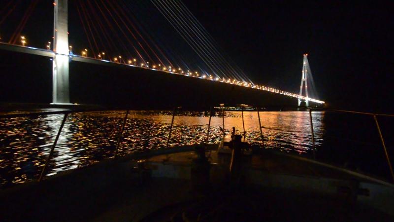 Владивосток Мост на о Русский