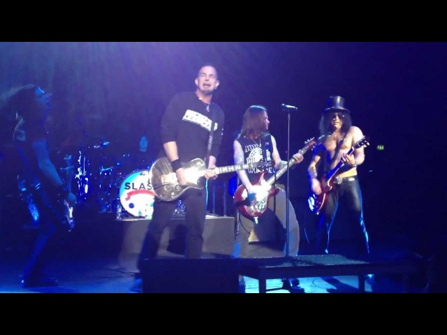 Slash Tremonti - RISE TODAY (Alter Bridge) - Brixton O2 Academy (London) 11th Oct 2012