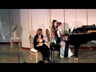 "Sergei Rachmaninov ""Elegy"" Tatiana Nenashevа (domra), Larisa Koksharova (piano)"