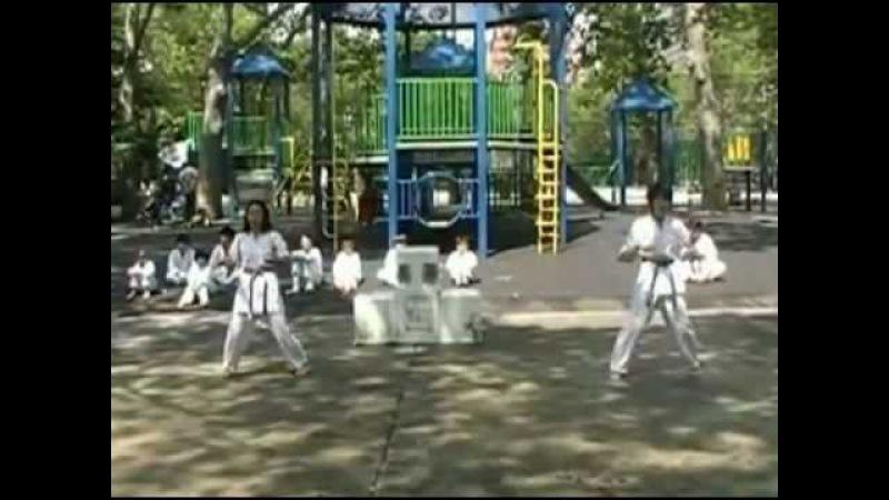 World Oyama Karate Matsumoto Dojo Hina Rei Taizan