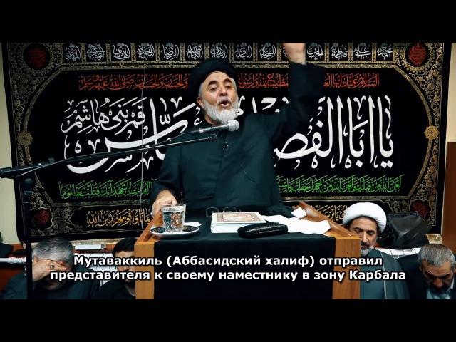Сейид АлиАкбар Оджаг Неджат Ашура сохранила ислам а Арбаин Ашуру с русскими субтитрами 2016