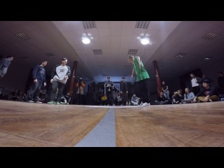 Funky Man 9 | Popping 1/8 final Чинарь vs Оксана Липченко