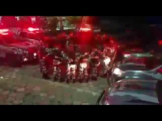 Спецназ Бразилии поет ГОСПОДУ!!!