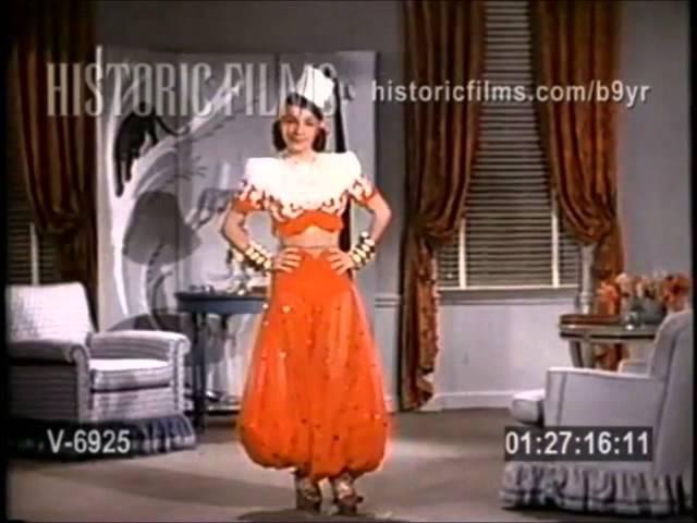 Carmen Miranda Testes de Figurinos Fox Anos 40