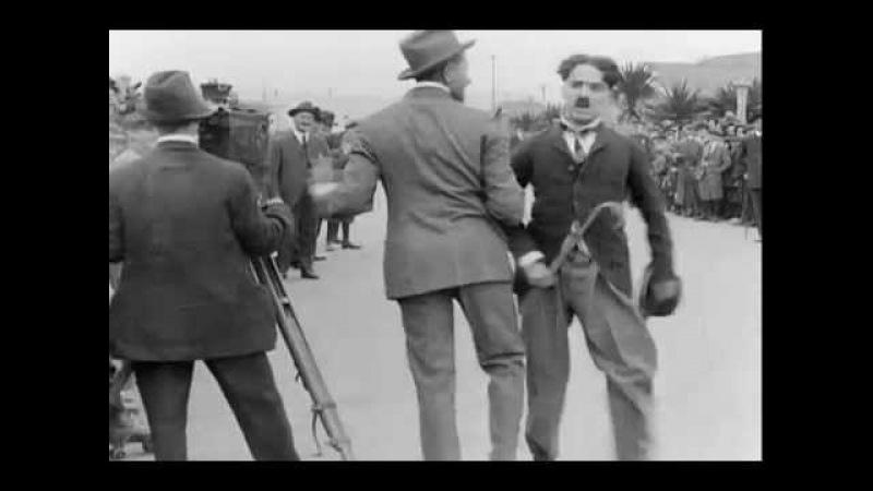 Детские автомобильные гонки Charles Chaplin