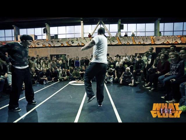 What The Flock vol 3 Popping 1x1 Semifinal Murra vs Makas