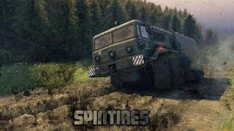Стрим! Spintires! [Mitsubishi L200! Toyota Hilux! Range Rover Evoque LRX! Карта «Damp earth»