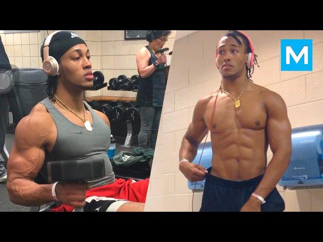 Explosive Workout Beast - Devonte Wilson | Muscle Madness