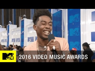 Desiigner Freestyles on the Red Carpet   2016 Video Music Awards   MTV