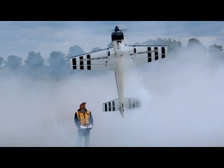 YAK-54 GIANT RC MODEL PLANE 3D AEROBATICS DEMO FLIGHT