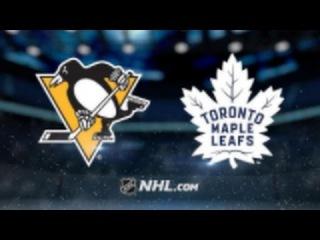 Pittsburgh Penguins vs Toronto Maple Leafs NHL Game Recap