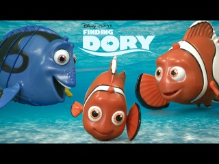 Finding Dory Swimming Dory, Marlin & Nemo from The Disney Store