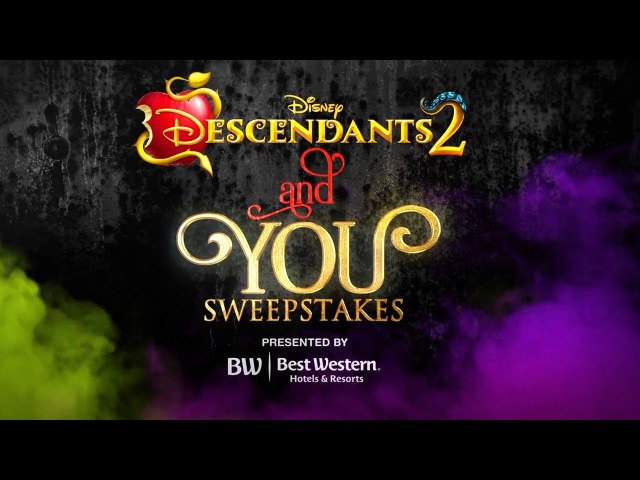 Descendants 2 and You Sweepstakes | Character Makeover with Sofia Cameron!