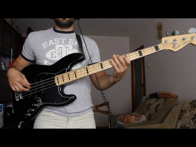Fender Jazz Bass American Deluxe 4 2011 sound clip HD