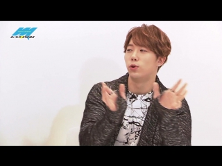 VK  Hoon (U-KISS) - show MusicExpress@ Saitama TV