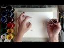 Воскресные рисовашики с Dari Art №27 Рисуем домик в осеннем лесу гуашью!