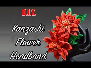 New Petal | Kanzashi Flower Headband | MyInDulzens