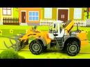Мультфильм для детей! Мультик про Трактор и Экскаватор Бульдозер в Городке 2D Вид